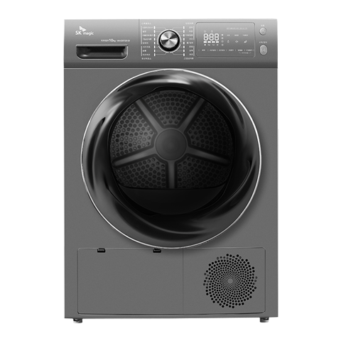 히트펌프 전기식 의류건조기(10kg)_실버